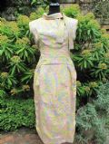 1950's BELINDA BELLVILLE Abstract printed vintage dress **SOLD**